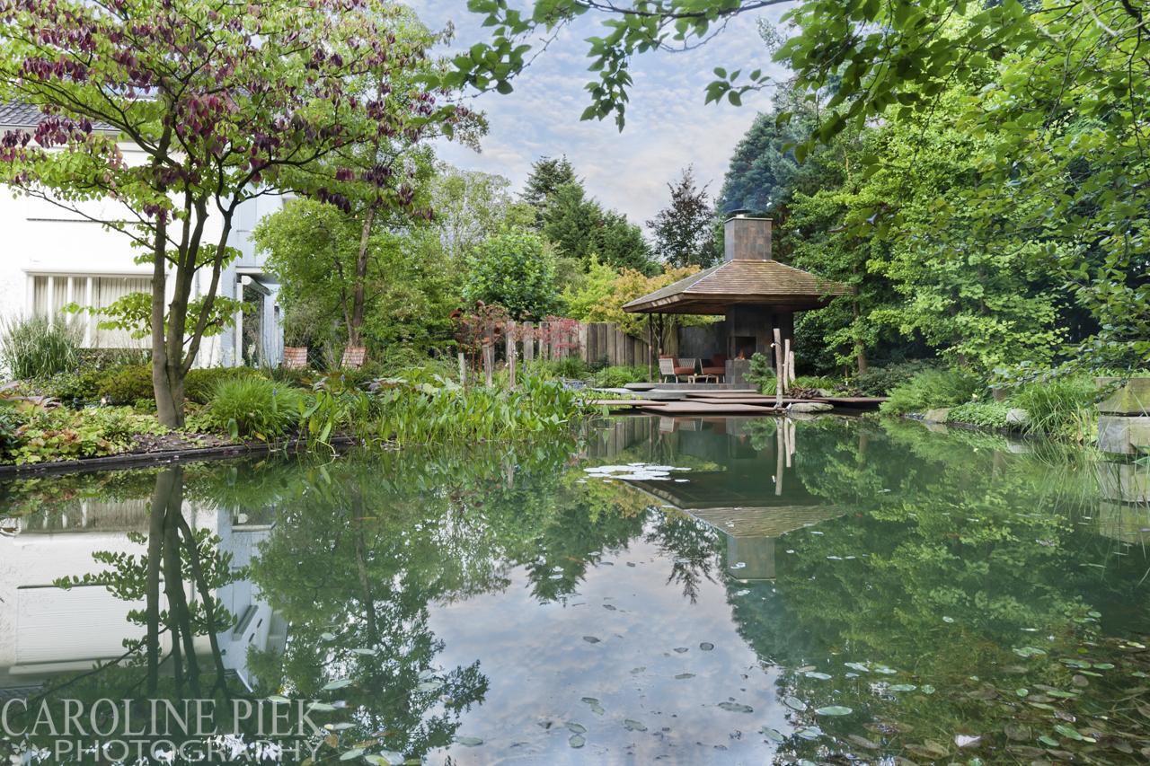 Japanse watertuin van Noël van Mierlo