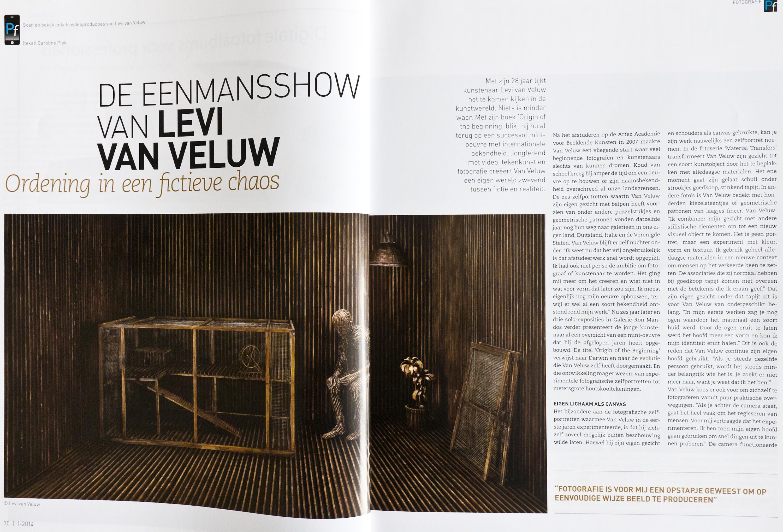 Interview met Levi van Veluw