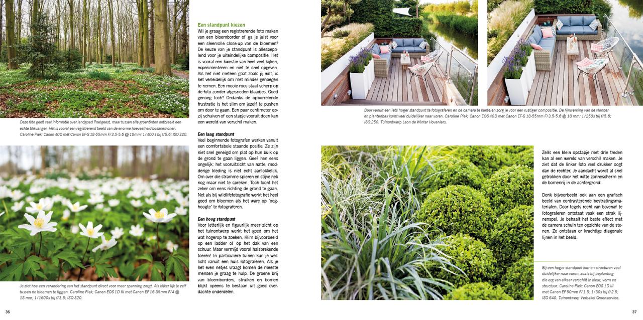 praktijkboek tuinfotografie