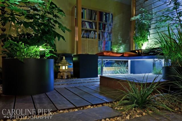Tuinreportage in Leiden voor Groenregie door Caroline Piek Photography - avondfotografie